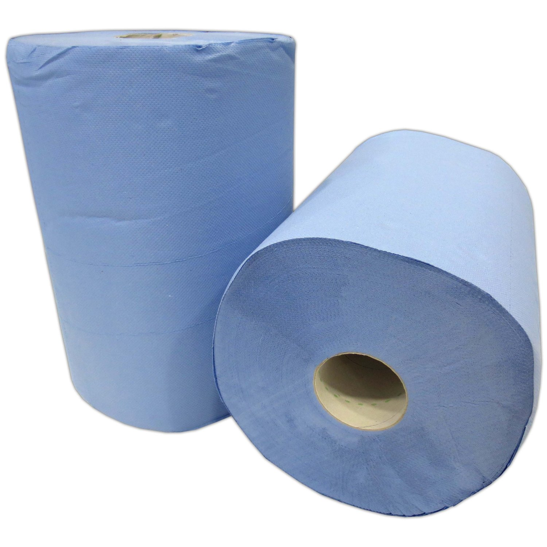 2x putzrolle blau 2 lagig 1000 blatt 38 x 36 cm perforiert. Black Bedroom Furniture Sets. Home Design Ideas