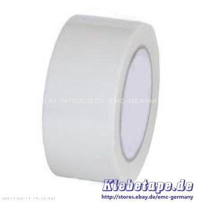 dance floor tape 33m x 50mm tanzboden klebeband wei weich pvc klebeband ebay. Black Bedroom Furniture Sets. Home Design Ideas