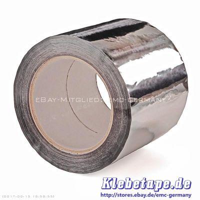 alu pp klebeband 100mm x 100m aluminiumklebeband isolierungen dampfsperren ebay. Black Bedroom Furniture Sets. Home Design Ideas