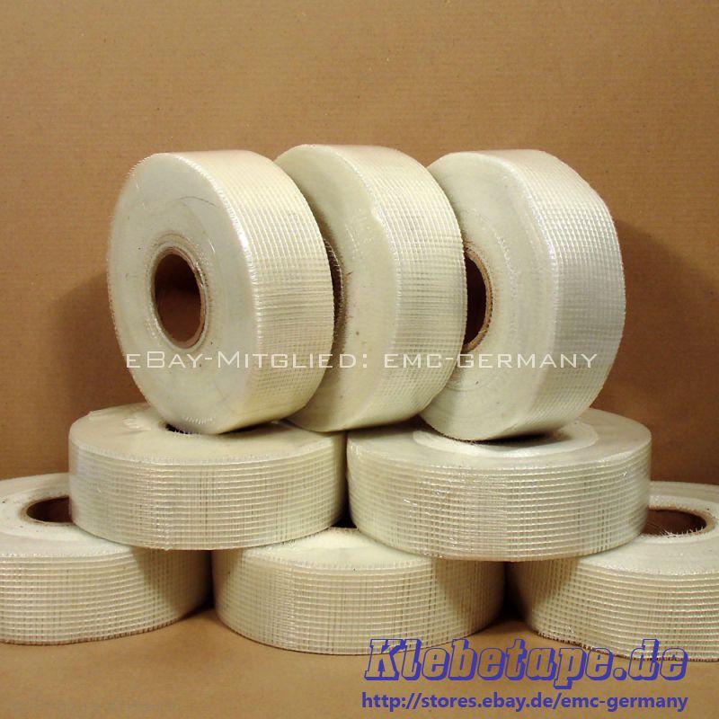 8 rueda 48mm x 90m cinta de malla fibra de vidrio cinta for Malla de fibra de vidrio