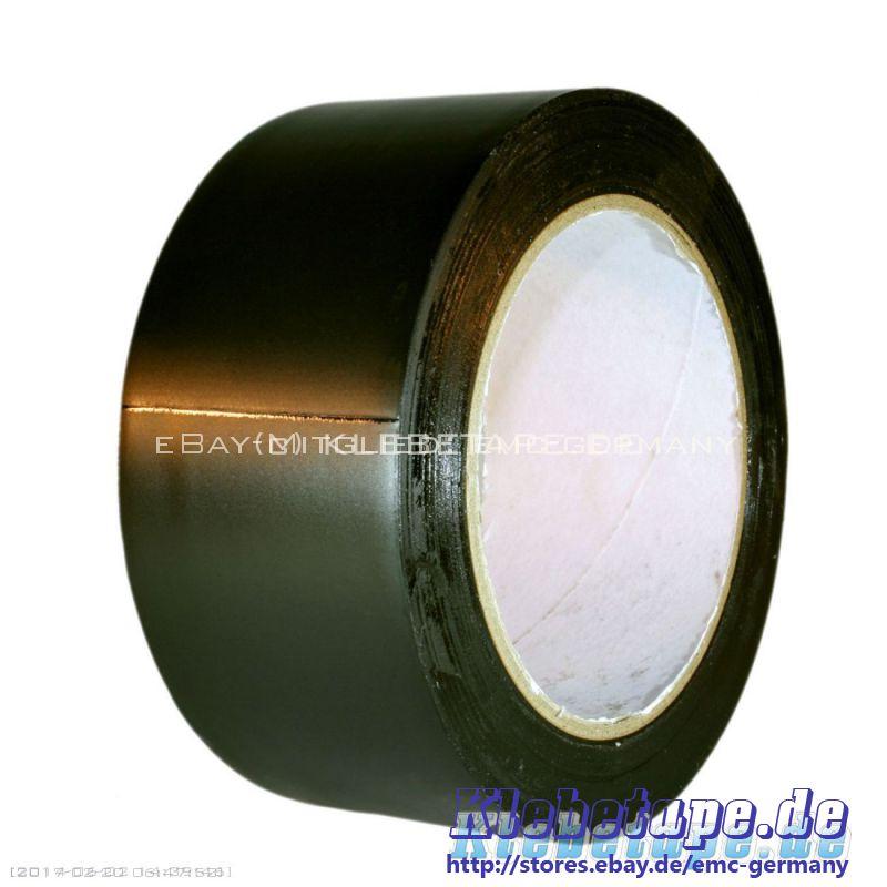 tanzboden klebeband schwarz 33m x 50mm dance floor tape weich pvc band ebay. Black Bedroom Furniture Sets. Home Design Ideas