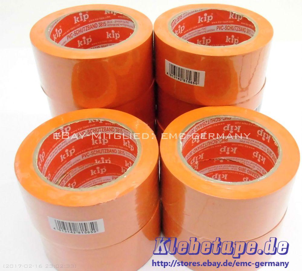 36x kip 3815 pvc schutzband orange 50mm x 33m klebeband tanzbodenklebeband. Black Bedroom Furniture Sets. Home Design Ideas