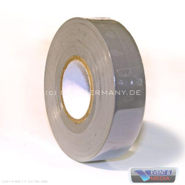 25m pvc isolierband 19mm breit grau sortiert zumpelband weich pvc klebeband ebay. Black Bedroom Furniture Sets. Home Design Ideas